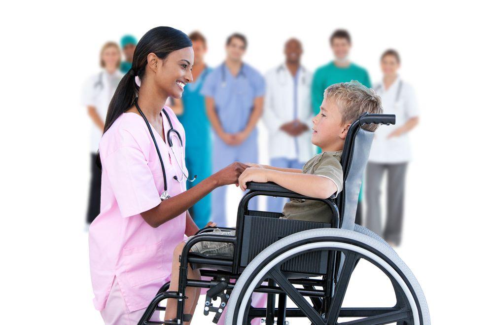 медицинское обслуживание детей-инвалидов