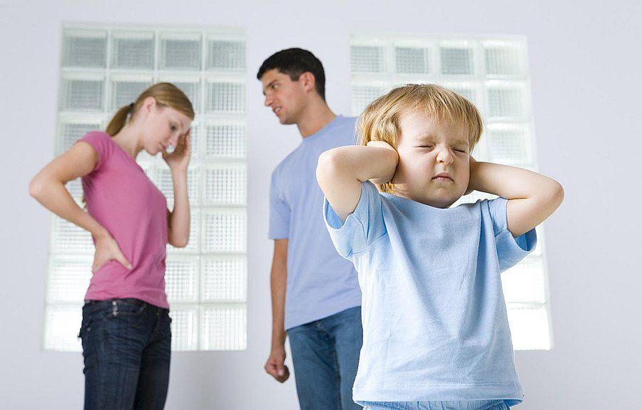 реакция ребенка на распад семьи