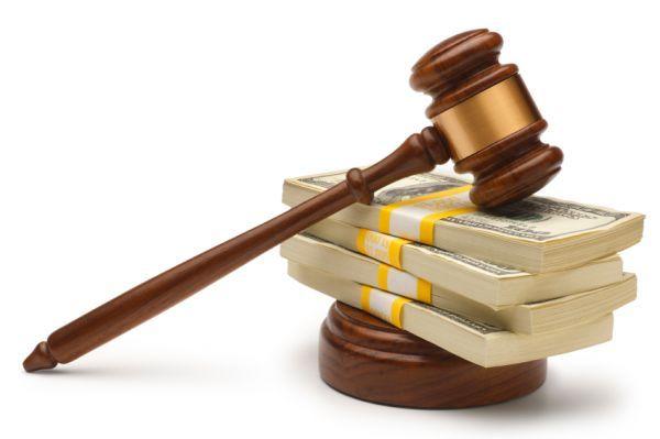 взыскание в судебном порядке