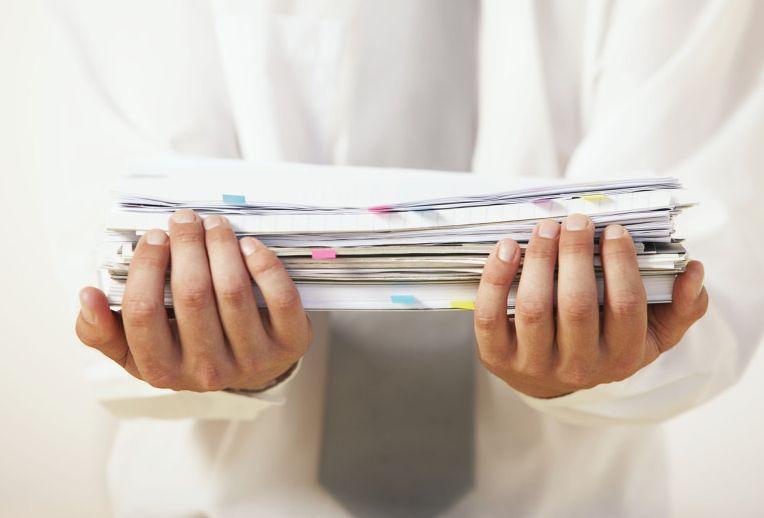 необходимый пакет документов