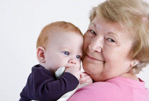 Уход за ребенком для бабушки