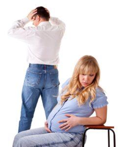 Нельзя развестись с беременной женой