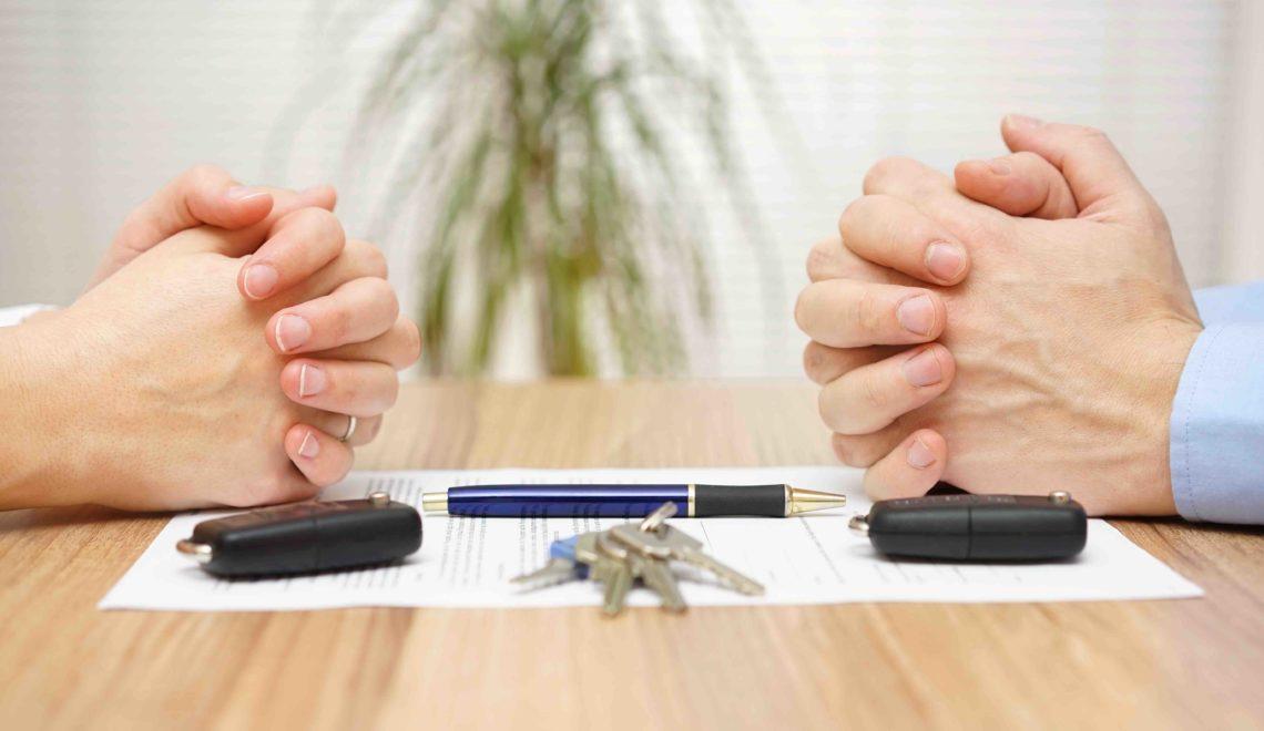 С чего начать развод с разделом имущества