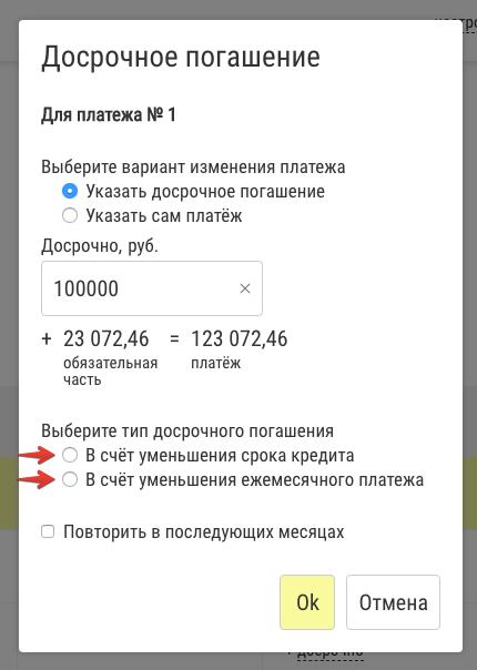 Сократить срок кредита или сумму ежемесячного платежа - запись пользователя наталья (kinstler) в сообществе квартирный вопрос в категории ипотека - babyblog.ru