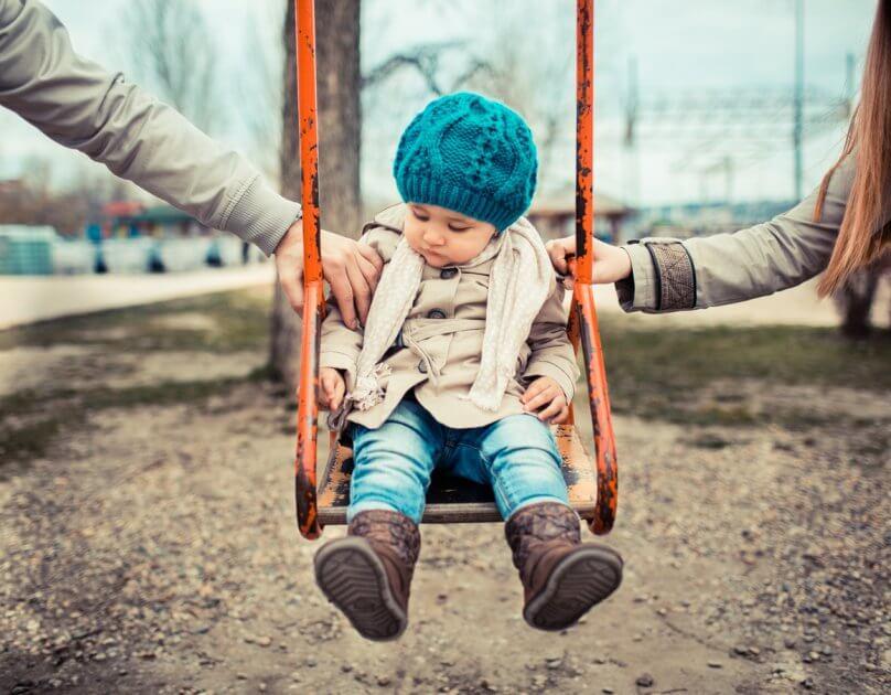 До скольки лет ребенок остается с матерью при разводе