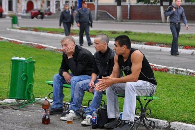 Штраф за нахождение в нетрезвом виде в общественных местах