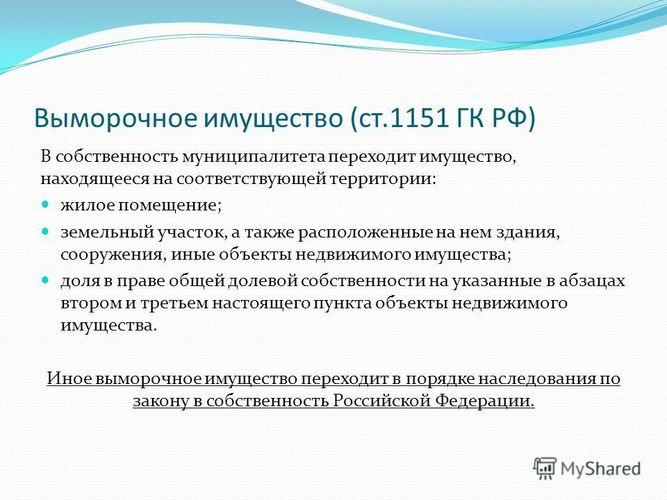 Проблемы наследования выморочного имущества   управление министерства юстиции российской федерации по республике хакасия