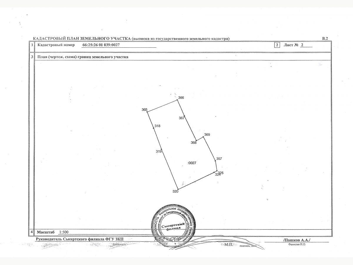 Кадастровый план территории: как выглядит и как заказать