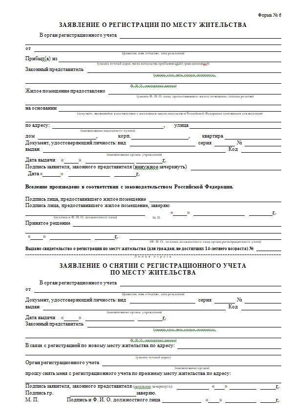 Особенности процесса оформления временной регистрации по месту прибывания