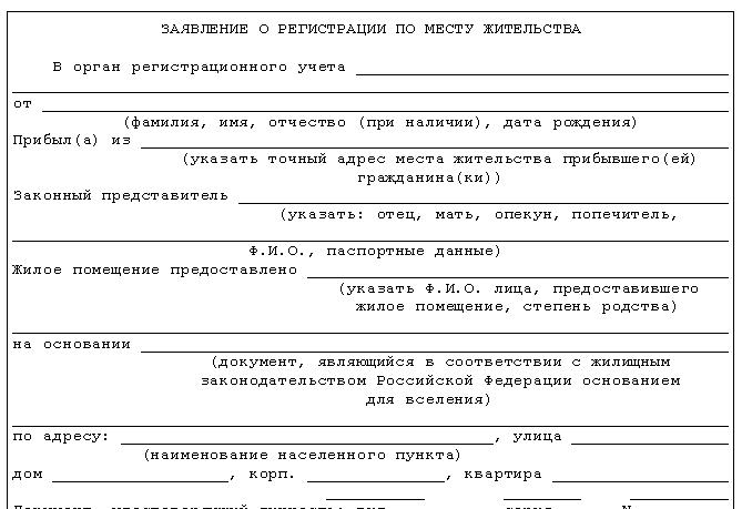 Прописка, какие документы нужны для прописки в квартиру в минске