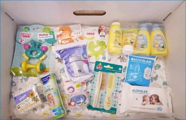 Коробка от мэра москвы для новорожденных девочек 2019