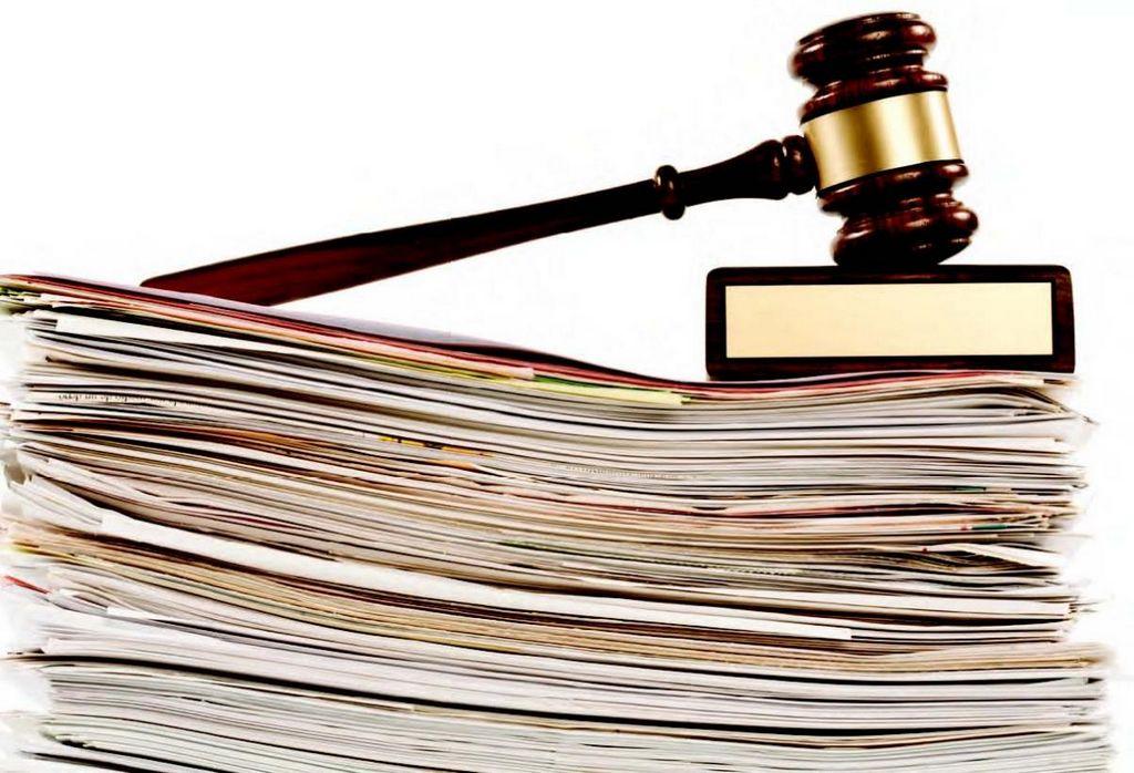 подача документов в канцелярию суда