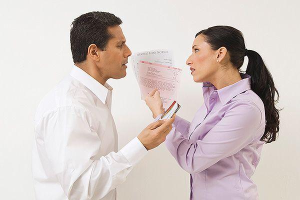 делятся ли кредиты при разводе взятые