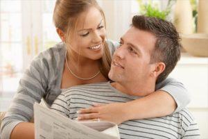 Общение с мужем