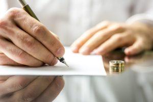 заявление на развод