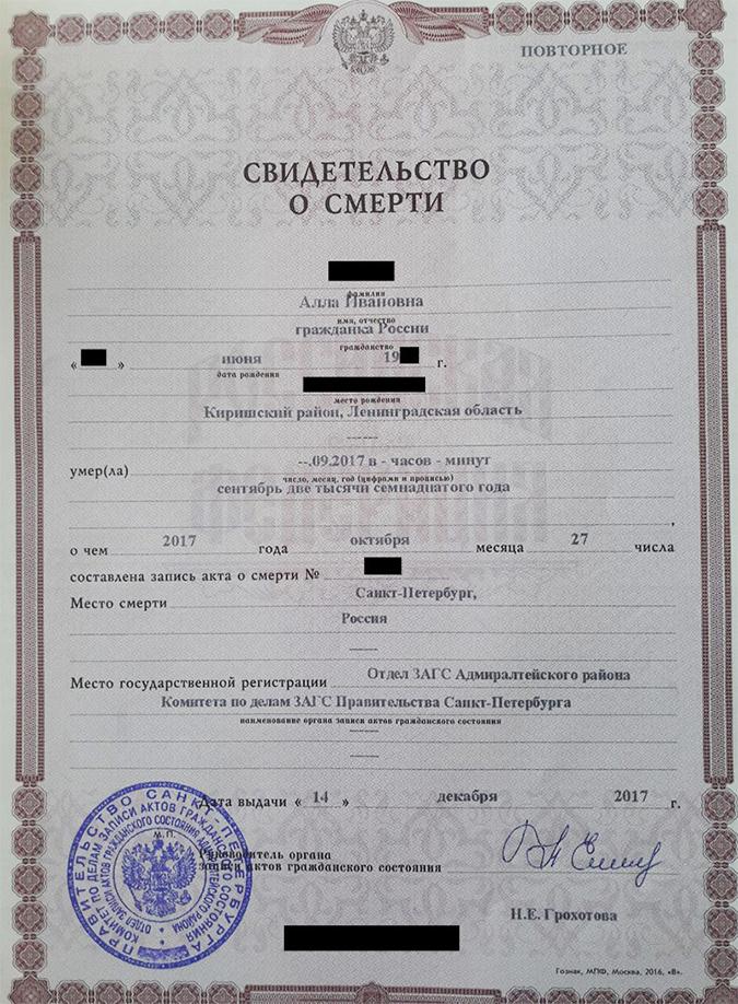 Выписка из квартиры умершего человека: где, как, какие документы предоставить родственникам?
