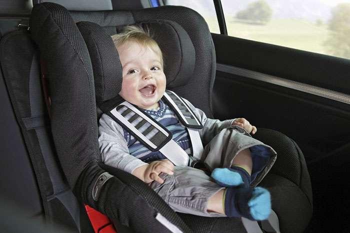Штрафы за детское кресло в автомобиле