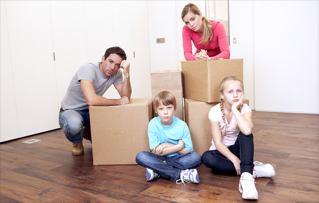 Как разделить квартиру при разводе?