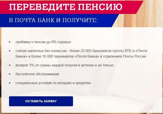 Кредит «суперпочтовый» в почта банке: условия, досрочное погашение