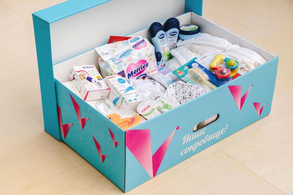 Коробка для новорожденных