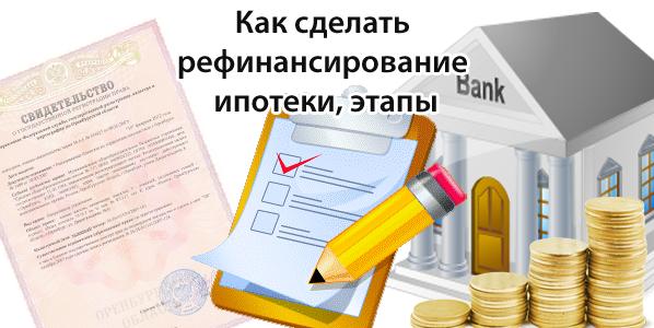 Как рефинансировать кредит? - сбербанк