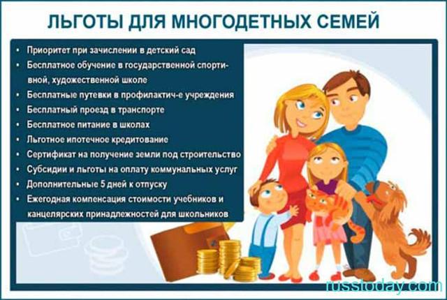Все льготы и пособия многодетным семьям в москве и московской области в 2019-2020 году » школа счастливого материнства