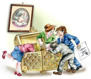 Налог с наследства от близких родственников