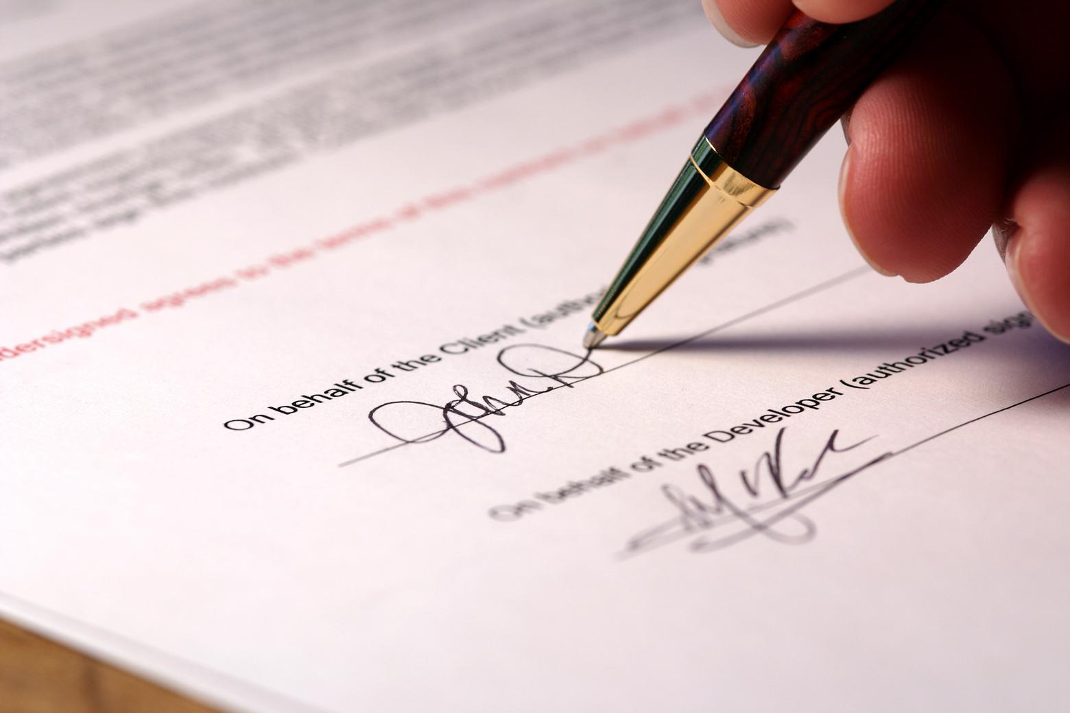 Что грозит за подделку подписи?