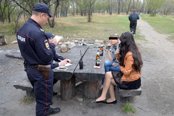Размер административного штрафа за распитие спиртных напитков в общественных местах в 2018 – 2019 году