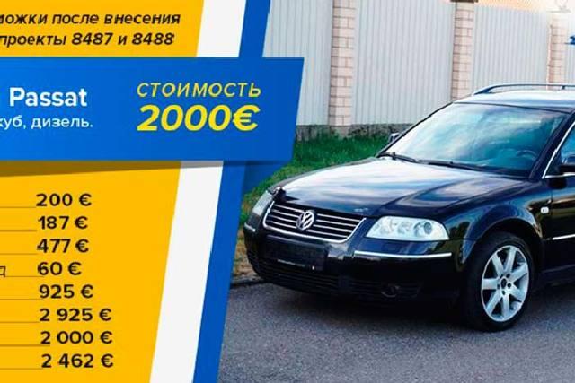 Нужна ли растаможка авто из белоруссии в 2020 году? сколько стоит?