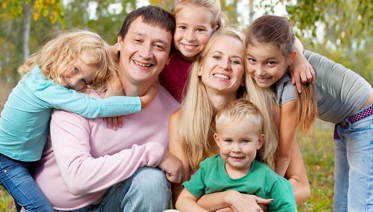 Многодетная семья сколько детей 2020