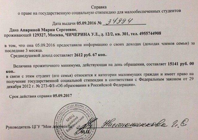 Критерии малообеспеченной семьи в 2020 году в москве