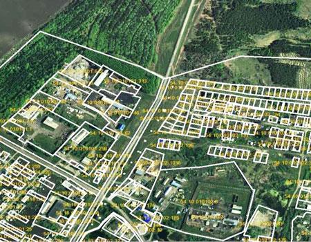 Кадастровый план территории