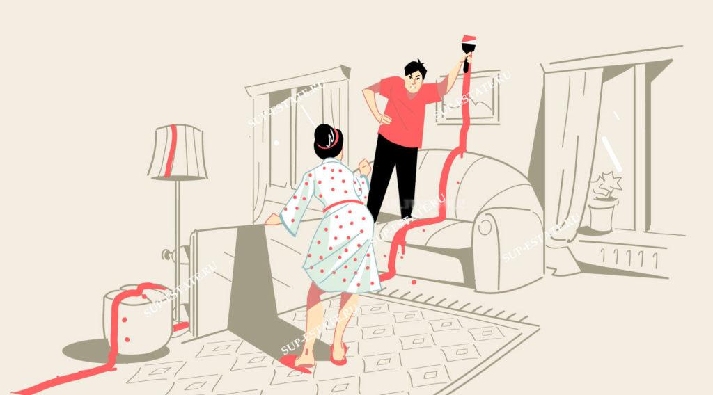Как не оказаться у разбитого корыта, или раздел квартиры при разводе