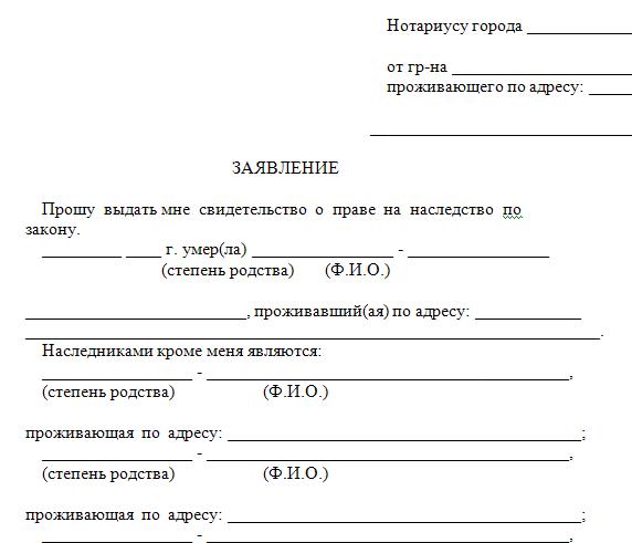 Какие документы нужны для оформления и вступления в наследство у нотариуса после смерти