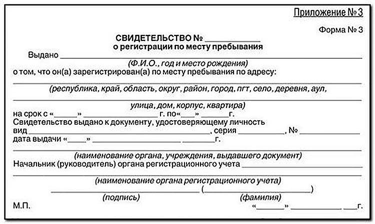 Регистрация по месту жительства для граждан рф: необходимые документы и сроки оформления