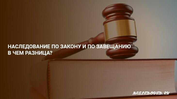 Доли в наследстве по закону