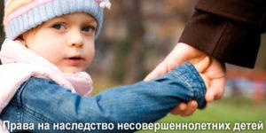 Как вступить в наследство ребенку, если нет 18 лет: наследование по закону несовершеннолетними