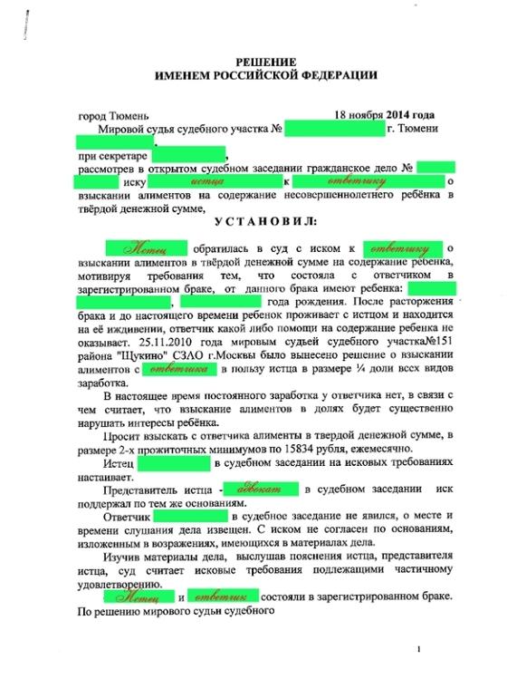 Иск о взыскании алиментов - образец искового заявления в суд 2020-2018, в твердой денежной сумме, как написать, если не состояли в браке, подсудность, госпошлина, на совершеннолетнего ребенка-студента