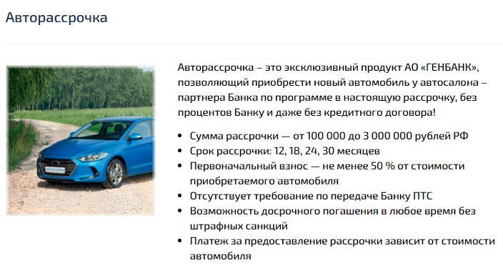 Госпрограмма льготного автокредитования