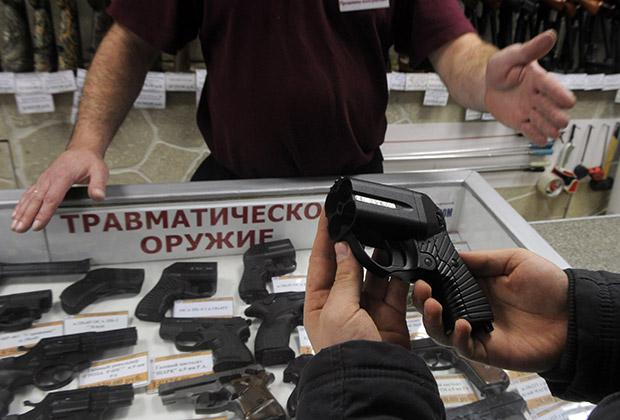 Ношение травматического оружия — правила хранения его дома согласно закону рф