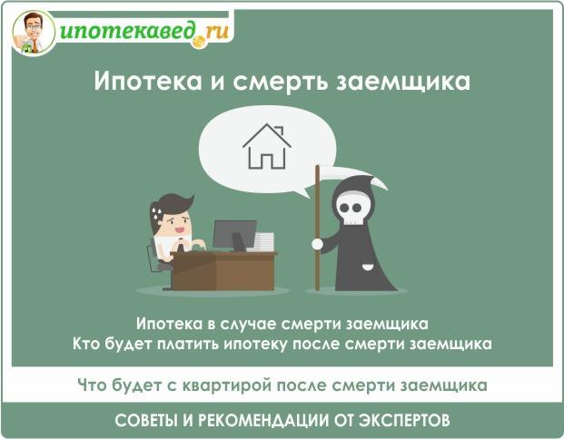 Кто оплатит кредит в случае смерти заемщика