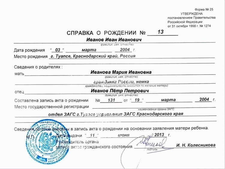 Список документов для прописки новорожденного ребенка 2021 в россии